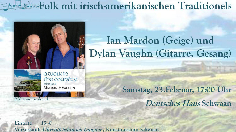 Plakat Mardon und Vaughn