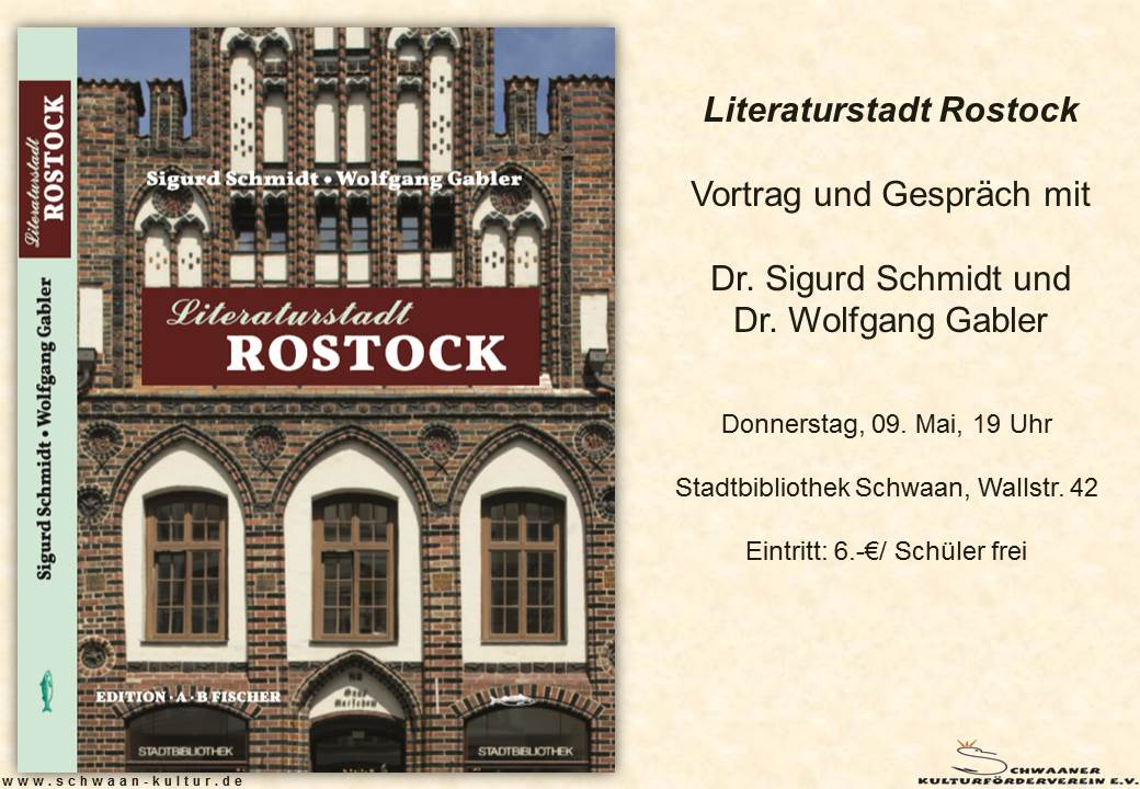 Literaturstadt Rostock